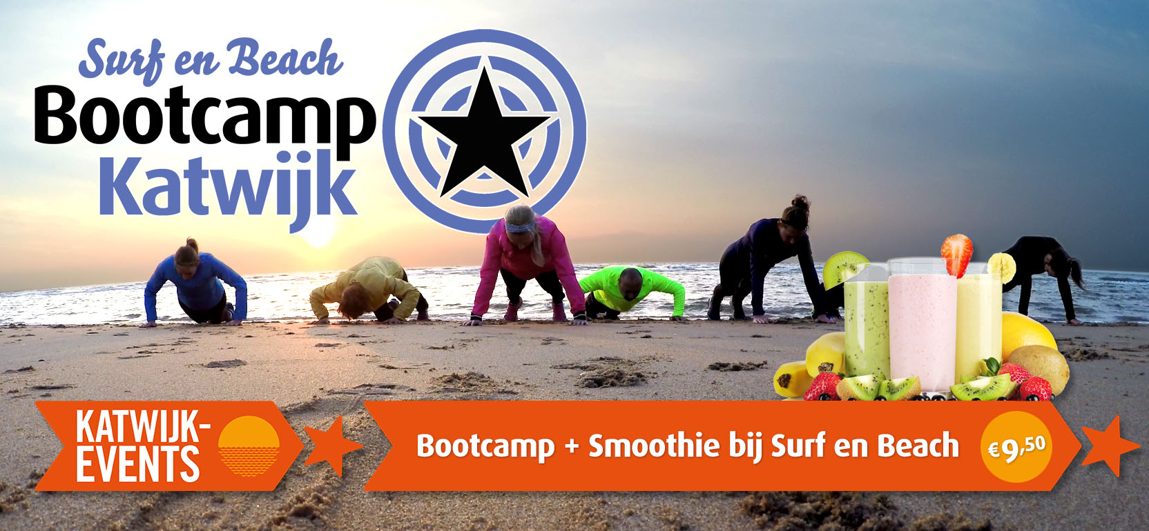 Surf en Beach Bootcamp Katwijk Events